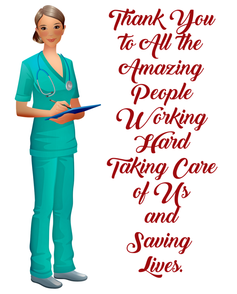 about us, thank you medical, nurse, covid
